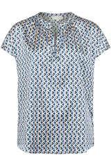 Bluse Ann aus Seiden-Stretch - KUDIBAL