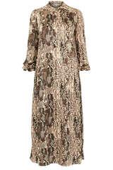 Midi-Kleid Rosanna aus Viskosekrepp - KUDIBAL