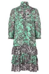Mini-Kleid aus Viskosekrepp - JADICTED