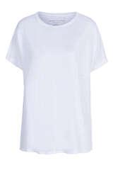 T-Shirt mit Leinen  - MAJESTIC FILATURES