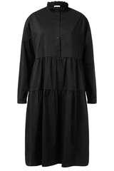 Midi-Kleid Brina mit Volants - IHEART