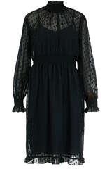 Kleid aus Chiffon mit Fil-Coupé-Dots - BIRGITTE HERSKIND