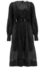 Midi-Kleid Whimsy aus Samt - ESSENTIEL ANTWERP