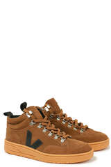 Sneakers Roraima Brown Black Natural Sole - VEJA