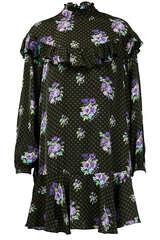 Mini-Kleid Weight mit Volants - ESSENTIEL ANTWERP
