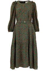 Midi-Kleid Waltz aus Viskose - ESSENTIEL ANTWERP