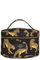 Kosmetiktasche Black Leopard XL - WOUF
