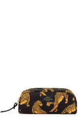 Kleine Kosmetiktasche Black Leopard - WOUF