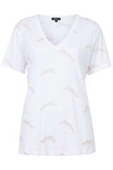 T-Shirt The Cara mit V-Ausschnitt - RAILS