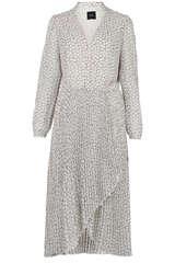 Kleid mit plissiertem Rock - IDANO