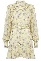 Kleid aus Viskose-Chiffon - DREAM CATCHER