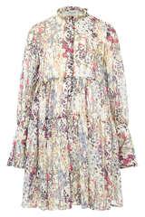 Mini-Kleid aus Chiffon - DREAM CATCHER