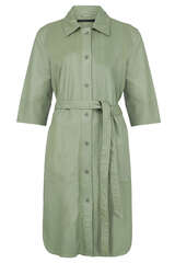 Hemdkleid Clare aus Leder - MDK