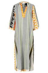 Maxi-Kleid aus Baumwolle - DEVOTION