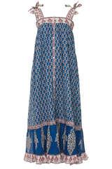 Maxi-Kleid Madi aus Baumwolle - M.A.B.E