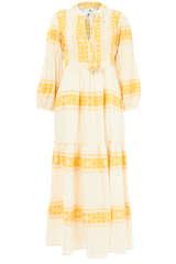 Maxi-Kleid Zakar aus Baumwolle - PEARL & CAVIAR