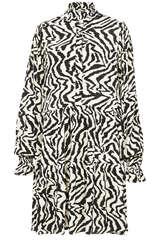 Kleid Zoku mit Zebra-Print - ESSENTIEL ANTWERP