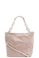 Handtasche aus Veloursleder - AGL