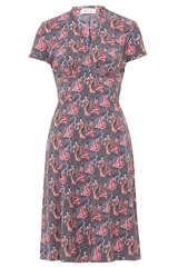 Kleid Edita mit Geisha-Print - W.E.T. BY INES SCHNEIDER