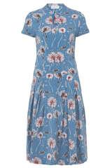 Kleid Therese mit Blumen-Print - W.E.T. BY INES SCHNEIDER