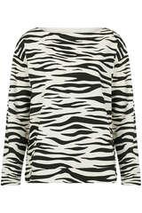 Sweatshirt mit Tiger-Print - JUVIA