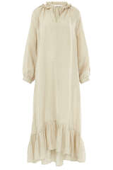 Maxi-Kleid Moriani aus Leinen - MASSCOB