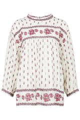 Tunika-Bluse Badesi aus Baumwolle  - MASSCOB