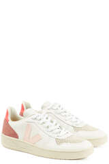 Sneakers Extra White Petale Rose Fluo  - VEJA
