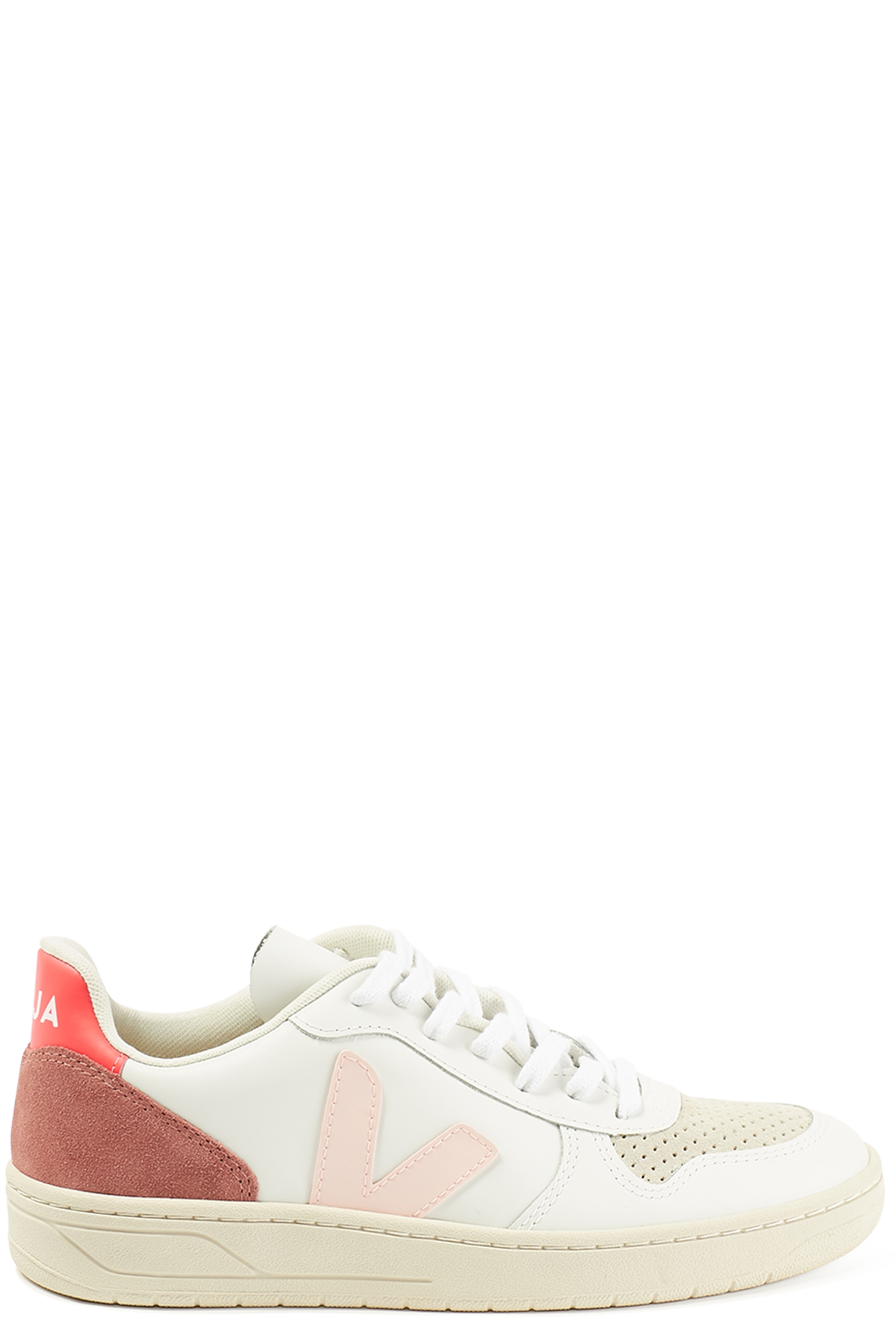 Sneakers Extra White Petale Rose Fluo