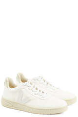 Sneakers V-10 White White Natural  - VEJA