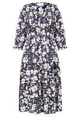 Midi-Kleid mit Floral-Print  - VELVET