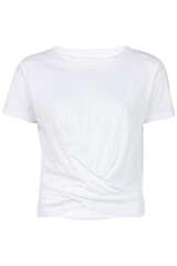 T-Shirt Melli mit Drapierung - VELVET
