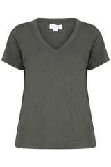 T-Shirt aus Slub-Jersey - VELVET