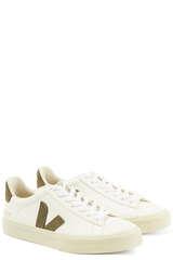 Sneakers Campo Chromefree Extra White Kaki - VEJA