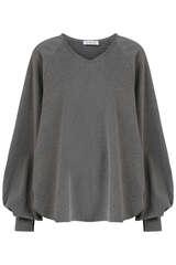 Oversize Sweatshirt mit Fledermausärmeln - SOSUE