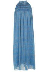 Kleid aus Chiffon mit Plissee  - BLOOM