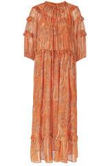 Midi-Kleid mit Paisley-Muster - BLOOM
