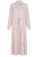 Midi-Kleid aus Viskosekrepp - BLOOM