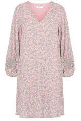 Kleid aus Viskosekrepp  - BLOOM