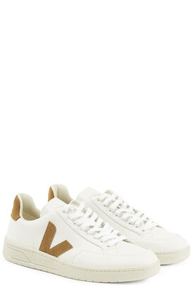 Sneakers White Camel