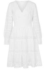 Kleid aus Baumwolle mit Häkeldetails  - FLOWERS FOR FRIENDS