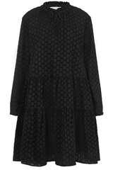 Kleid aus Baumwolle mit Lochstickerei - FLOWERS FOR FRIENDS