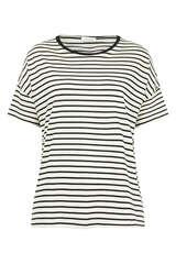 T-Shirt aus Baumwoll-Jersey - IHEART
