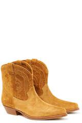 Stiefeletten Colt aus Veloursleder  - BA&SH