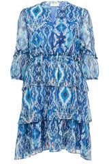 Kleid mit Volants - FLOWERS FOR FRIENDS