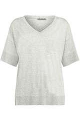 T-Shirt mit V-Ausschnitt - DRYKORN
