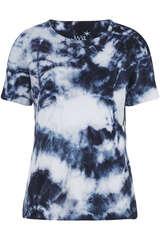 T-Shirt aus Baumwolle mit Batikmuster - JUVIA