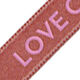Armband Love Create Enjoy aus Satin