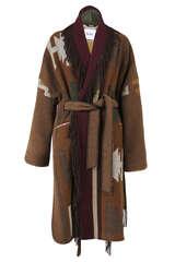 Mantel mit Ethnomuster und Fransen - BAZAR DELUXE
