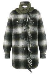 Shirtjacke mit Wolle und Gaucho Elementen - BAZAR DELUXE